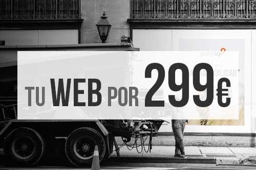 Diseño Web por 299€