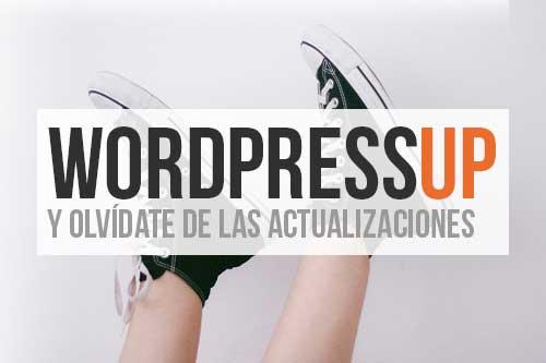 Diseño web: WordPressUP (Gestor de Contenidos)
