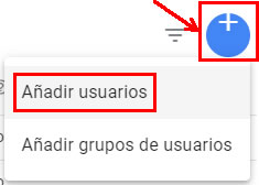 Anadir usuarios Google Tag Manager