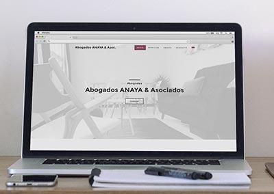 Página Web: Abogados Anaya