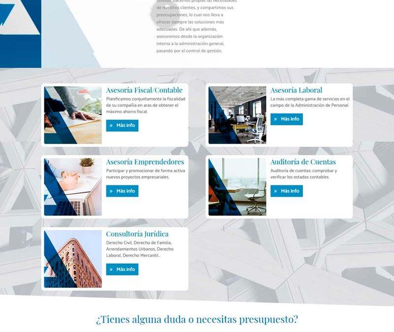 Diseño Web: Addecum Asesores
