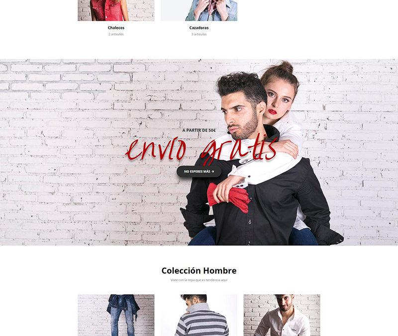 Diseño web: CBLJeans