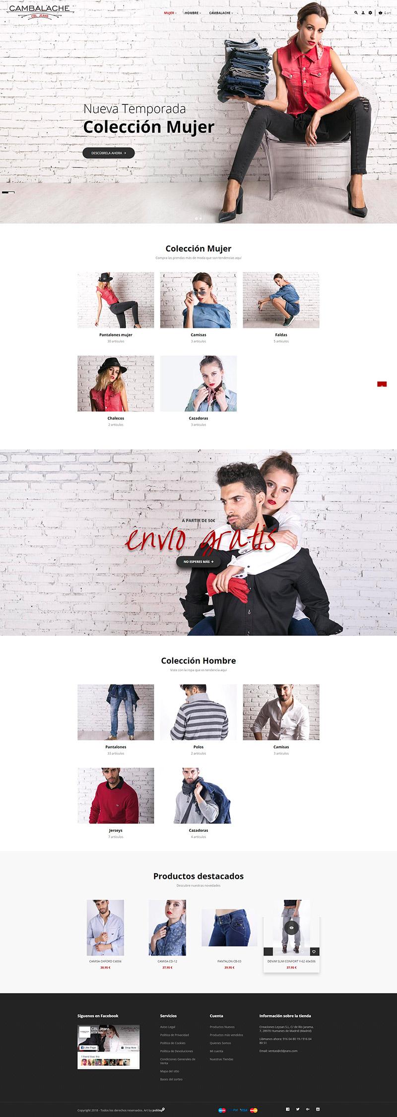 Tienda Online CBLJeans