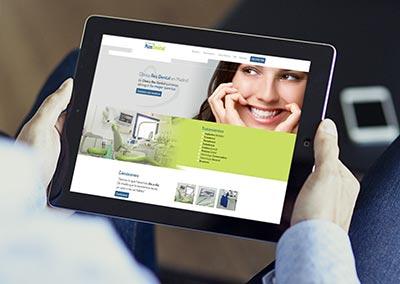Diseño Web: Clínica Ros Dental