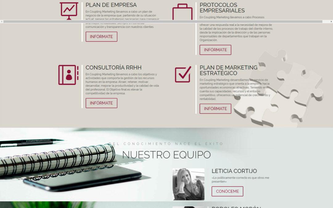 Diseño Web: Coupling Marketing