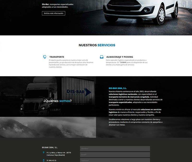 Diseño Web: Disbar 2004