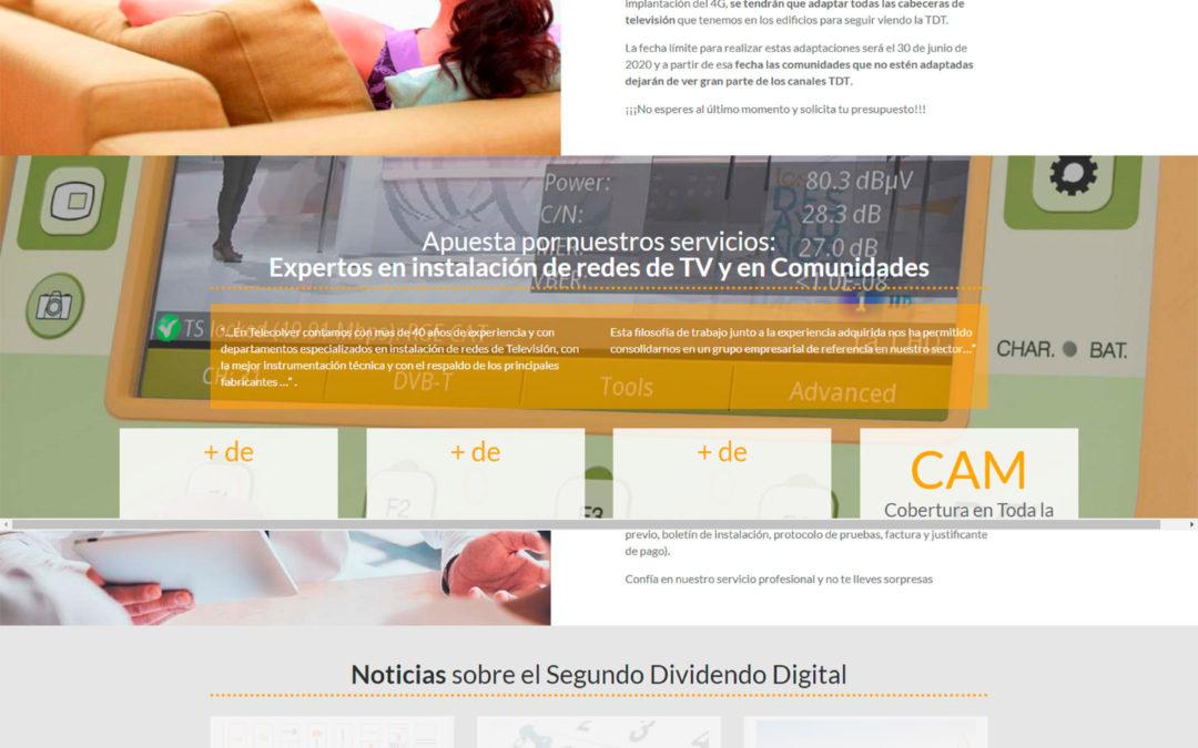 Diseño Web: Dividendo Digital Madrid