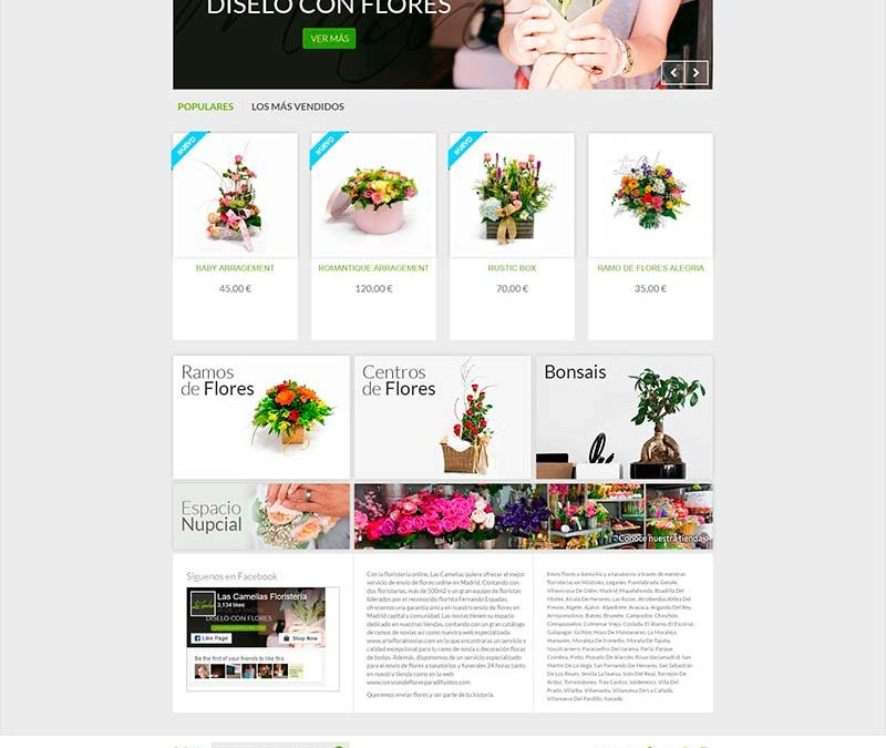 Diseño Web: Las Camelias