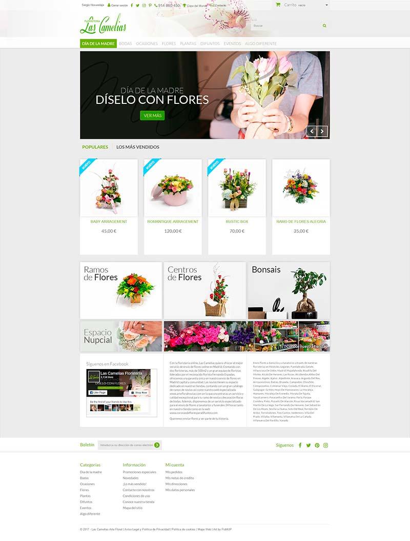 Tienda Online Las Camelias Arte Floral