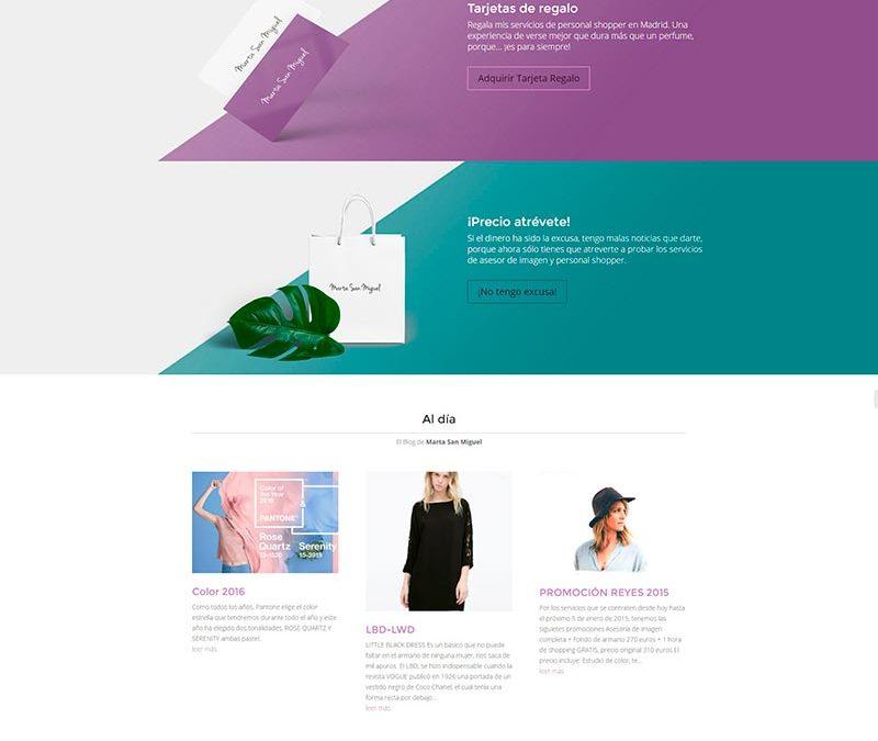 Diseño Web: Marta San Miguel