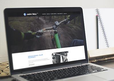 Diseño Web: monbici