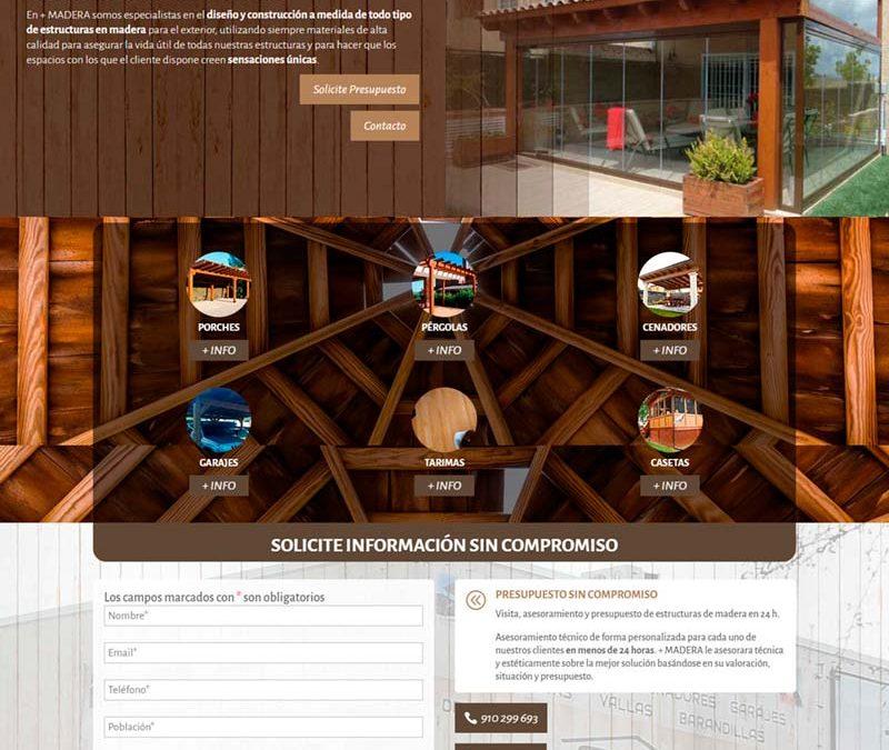 Diseño Web: Más Madera