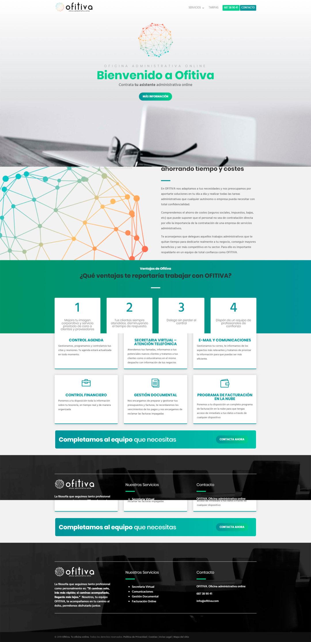 Diseño Web: Ofitiva