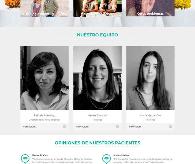 Diseño Web: Psiquepontevedra