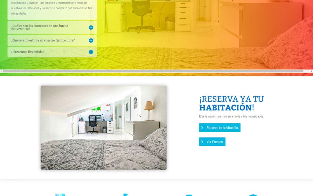 Diseño Web: Residencia Europa