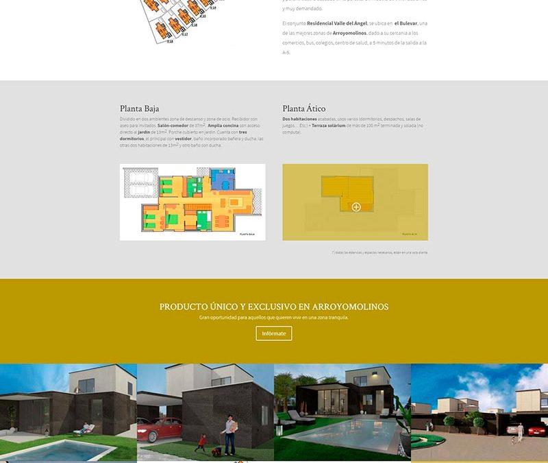 Diseño Web: Residencial Villa del Ángel