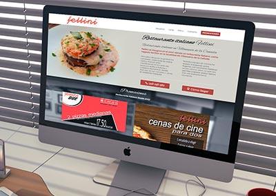 Diseño Web: Restaurante Fellini