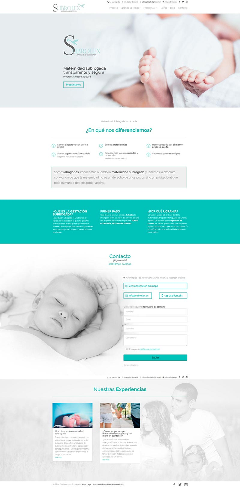 Diseño Web: Subrolex