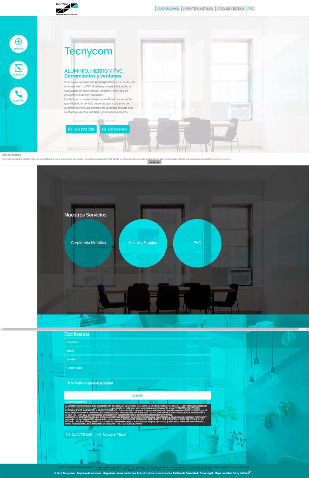 Diseño Web: Tecnycom